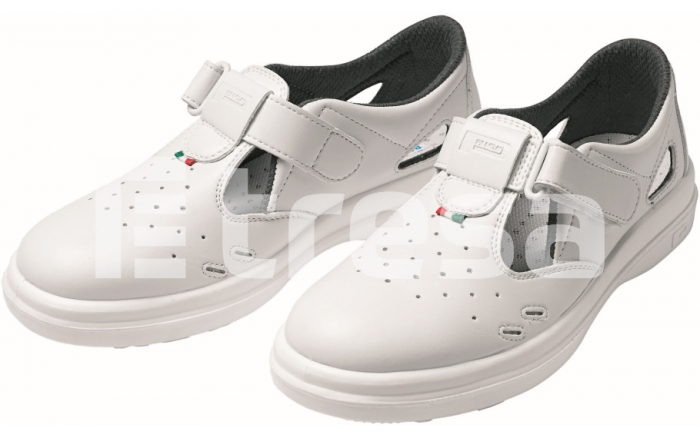 Panda Sanitary Libra S1, sandale de protectie cu bombeu metalic 0