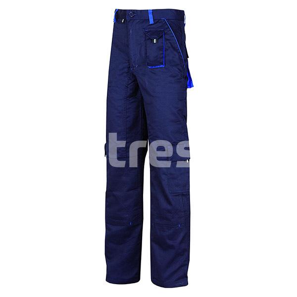 FIJI, Pantalon standard din bumbac si poliester 0