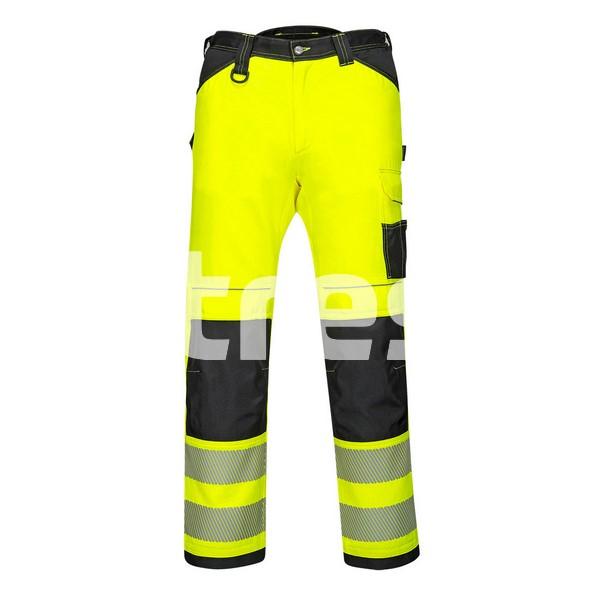 PW340 HI-VIS, Pantaloni de lucru din poliester si bumbac 4