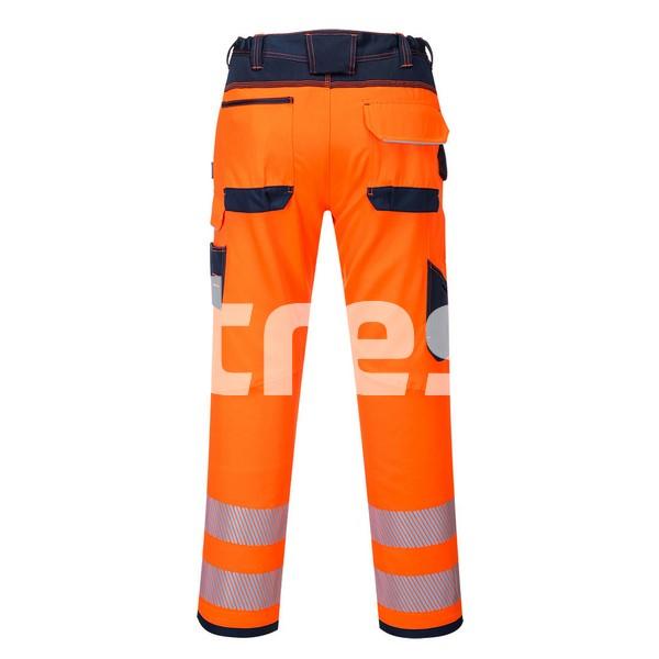 PW340 HI-VIS, Pantaloni de lucru din poliester si bumbac 3