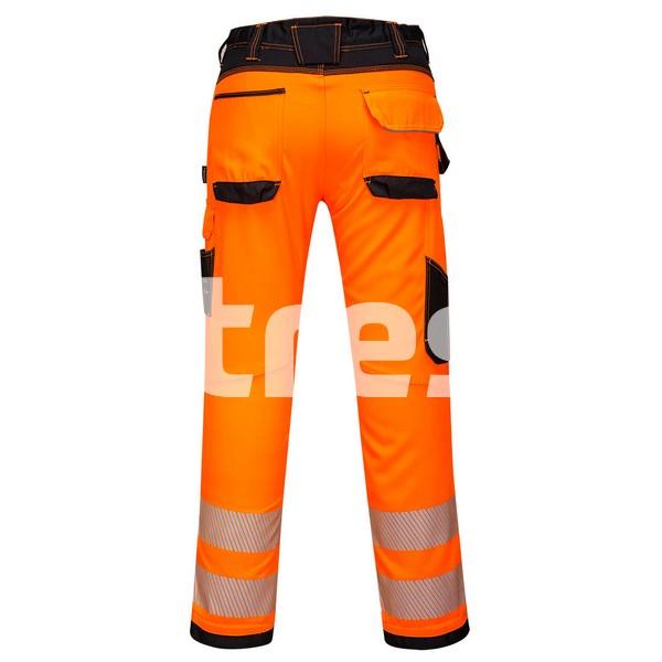 PW340 HI-VIS, Pantaloni de lucru din poliester si bumbac 1