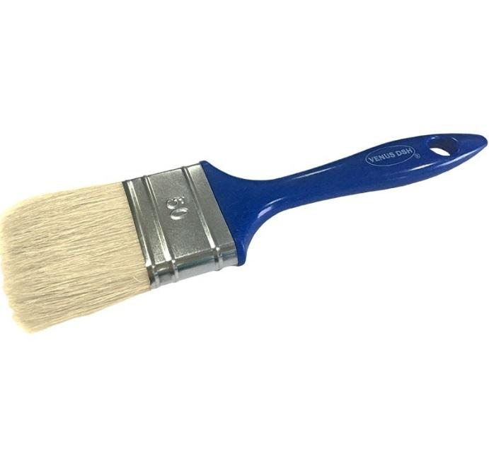 Pensula fir natural, maner plastic 50 mm [0]