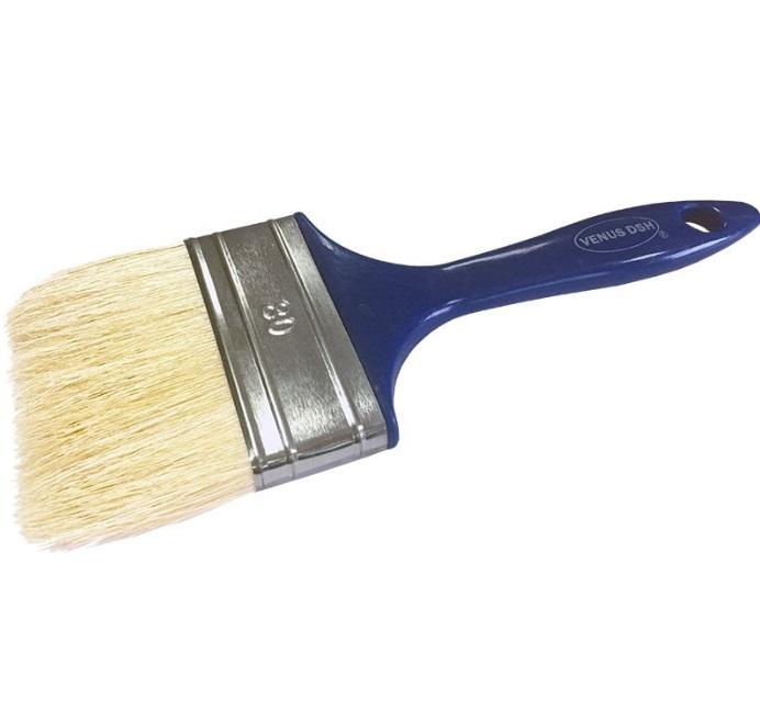 Pensula fir natural, maner plastic 80 mm 0