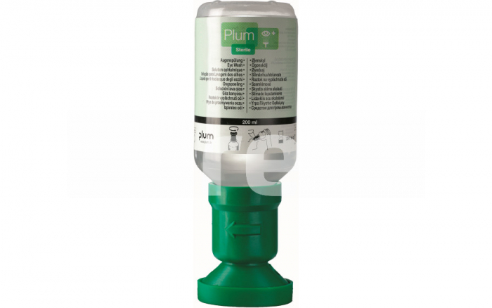 Plum Eye wash, solutie pentru clatirea ochilor, 200ml 0