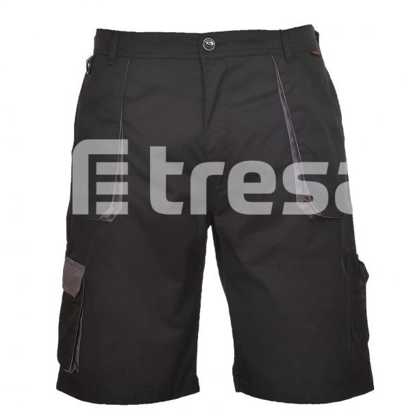 PORTWEST TEXO CONTRAST, Pantaloni scurti din bumbac si poliester 0