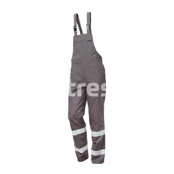 RADAR, Pantalon pieptar cu benzi reflectorizante din bumbac 1
