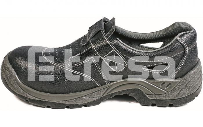 Raven Metal Free S1P, sandale de protectie cu bombeu compozit, lamela antiperforatie 0