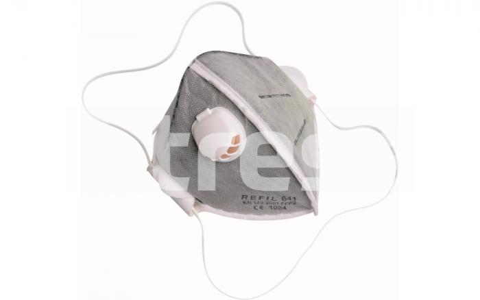 REFIL 641, semimasca de protectie pliabila, cu supapa 0
