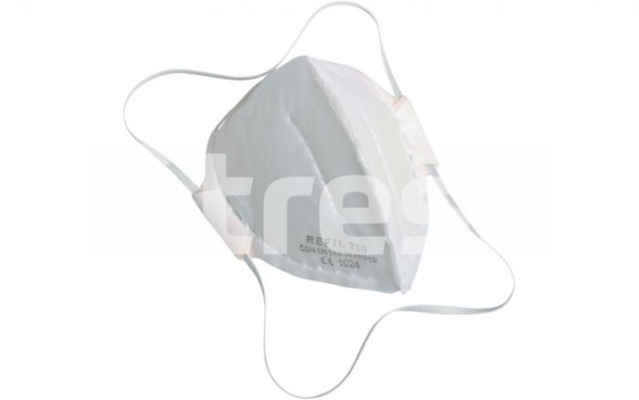 REFIL 710, semimasca de protectie pliabila 0