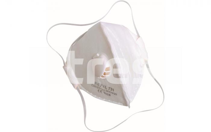 REFIL 731, semimasca de protectie pliabila, cu supapa 0