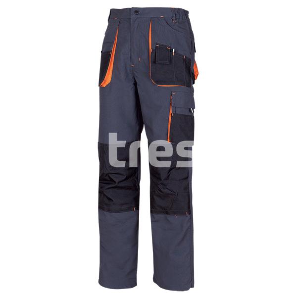 RICHARD, Pantalon standard din bumbac si poliester [0]