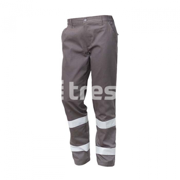ROAD, Pantalon talie cu benzi reflectorizante din bumbac [0]