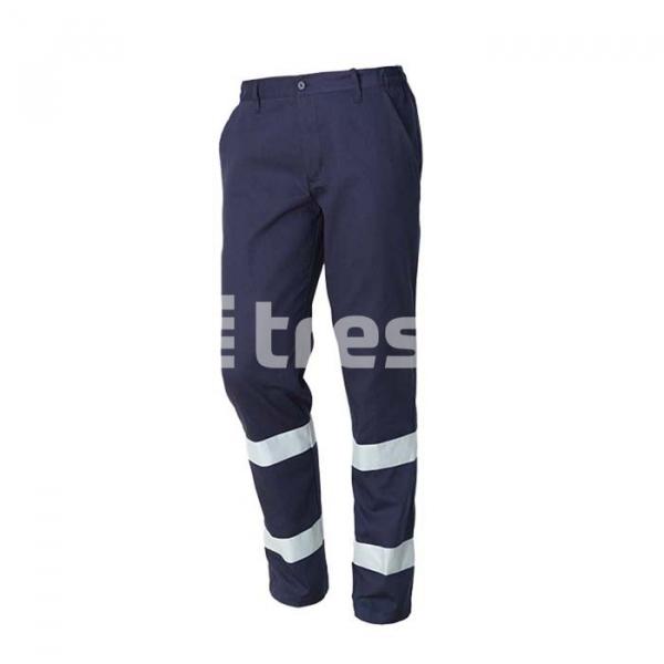 ROAD, Pantalon talie cu benzi reflectorizante din bumbac [1]