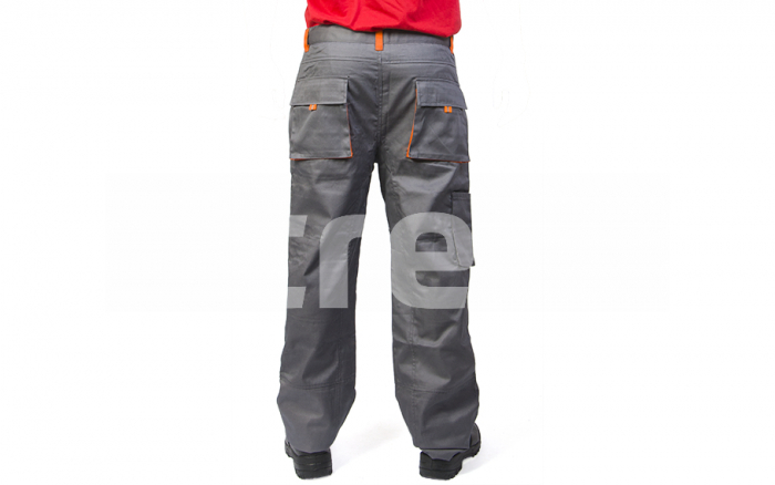 SAMOA, Pantalon standard din bumbac si poliester 2