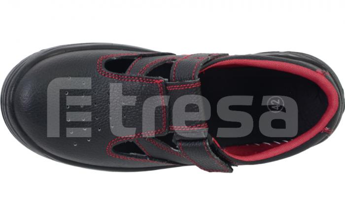 Fridrich S1, Sandale de protectie cu bombeu din otel, talpa SRC 4