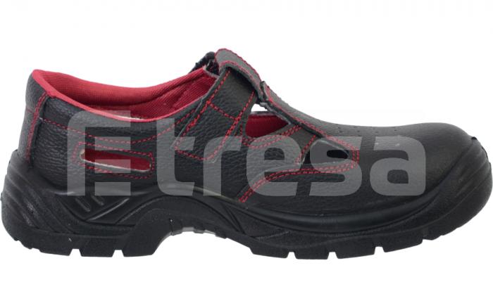 Fridrich S1, Sandale de protectie cu bombeu din otel, talpa SRC 0
