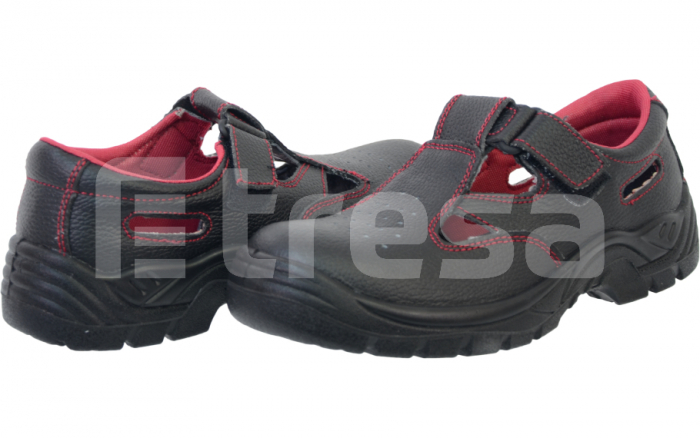 Fridrich S1, Sandale de protectie cu bombeu din otel, talpa SRC 6