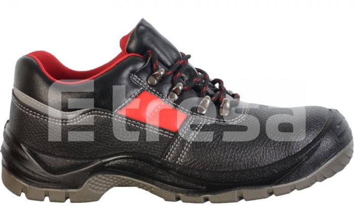 Fridrich S3, pantofi de protectie cu bombeu si lamela, talpa SRC 2