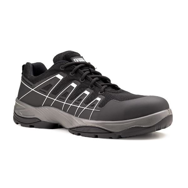 SCHORL S3, Pantofi de protectie cu bombeu compozit, lamela antiperforatie textila si fete hidrofobizate, Talpa SRC [0]