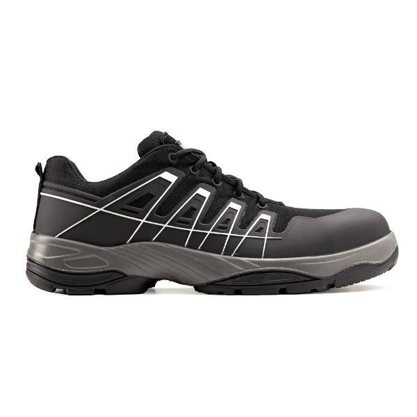 SCHORL S3, Pantofi de protectie cu bombeu compozit, lamela antiperforatie textila si fete hidrofobizate, Talpa SRC [1]