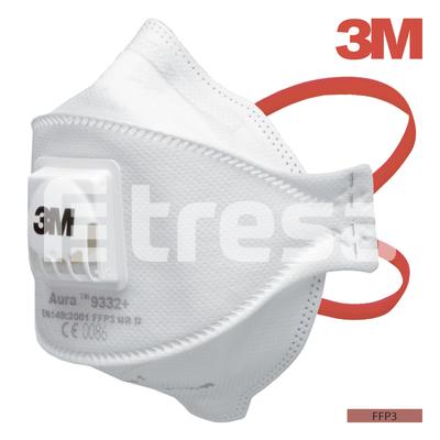 3M AURA 9332, Semimasca FFP3 cu supapa [0]