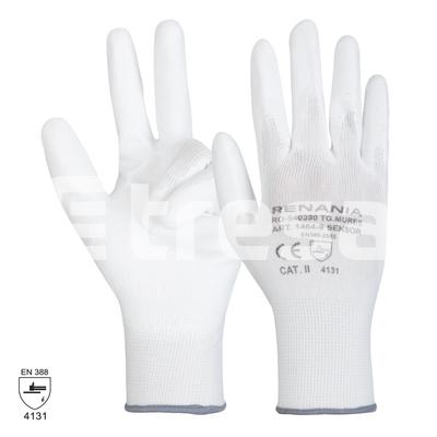 SENSOR, Manusi de protectie din nylon, cu imersie de poliuretan 0