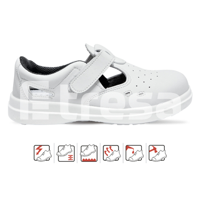 SIBARI S1, Sandale de protectie cu bombeu, talpa SRC [0]