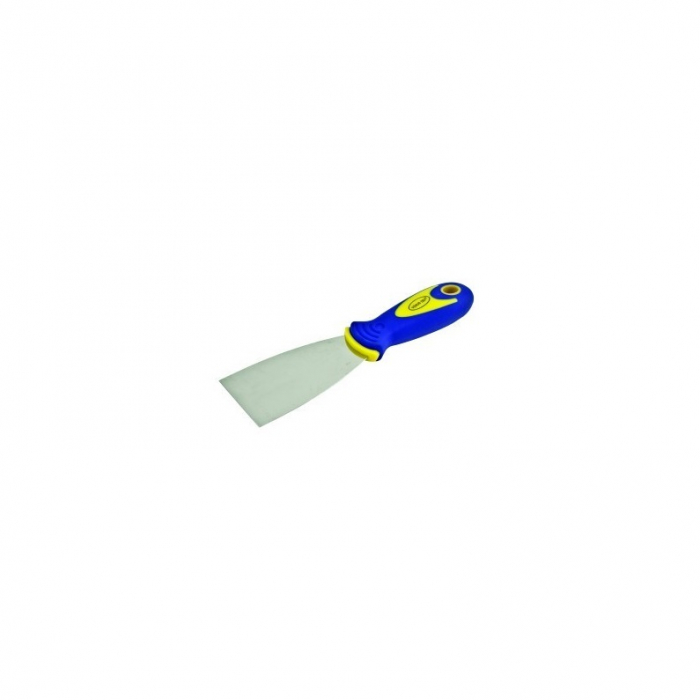 Spaclu inox, maner plastic-cauciuc 4'' (100 mm) 0