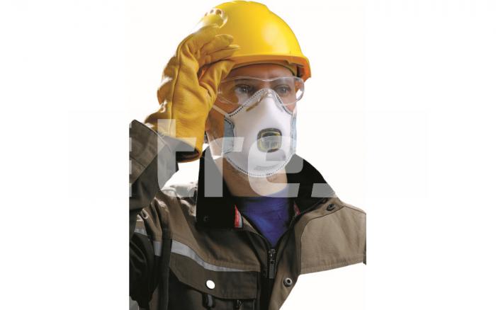 SPIROTEK VS2200AV, semimasca de protectie cu supapa 1