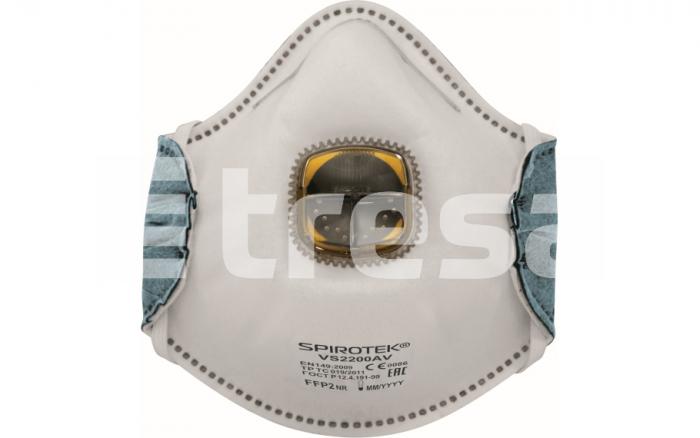 SPIROTEK VS2200AV, semimasca de protectie cu supapa 0