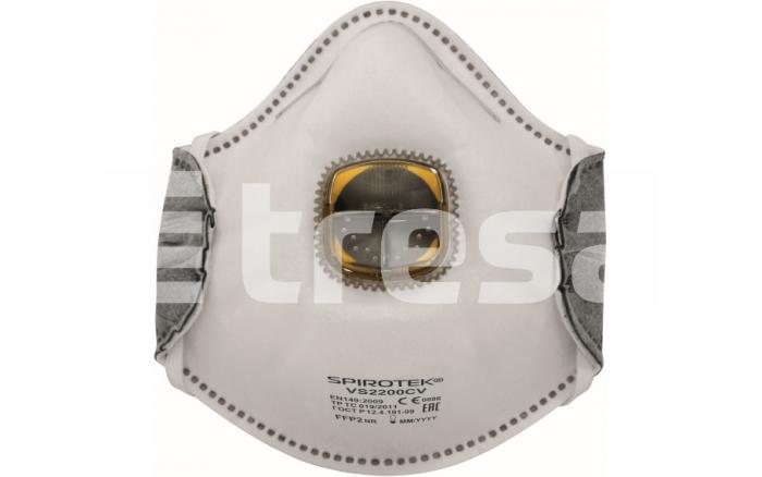 SPIROTEK VS2200CV, semimasca de protectie cu supapa 0