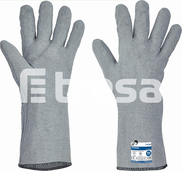 SPONSA, Manusi cusute din tricot special, imersate in nitril 1