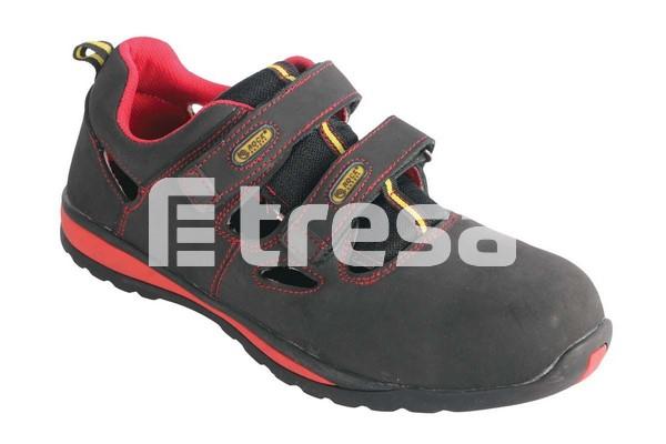 SS1010-GO S1, Sandale de protectie cu bombeu, talpa SRC 0