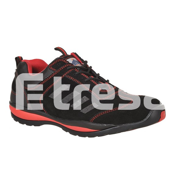 STEELITE LUSUM S1P, Pantof de protectie cu bombeu, lamela antiperforatie, talpa HRO 3