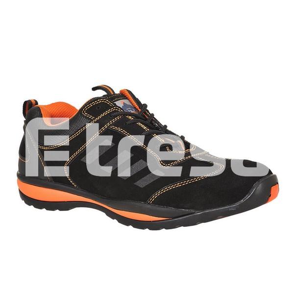 STEELITE LUSUM S1P, Pantof de protectie cu bombeu, lamela antiperforatie, talpa HRO 2