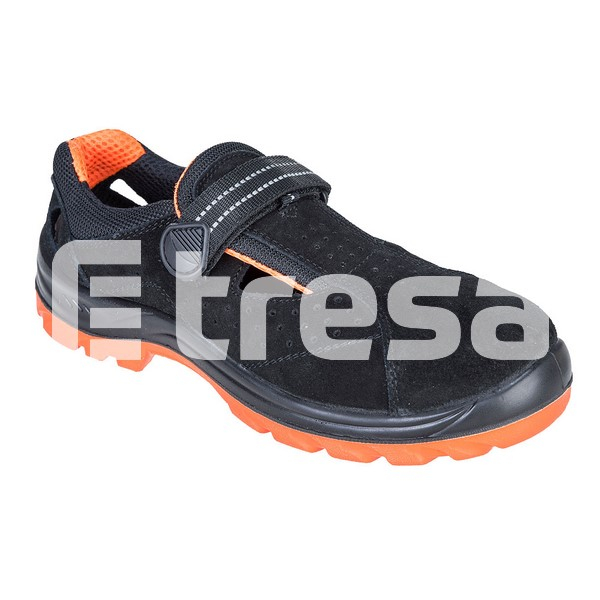 STEELITE OBRA S1, Sandale de protectie cu bombeu, talpa SRC 0