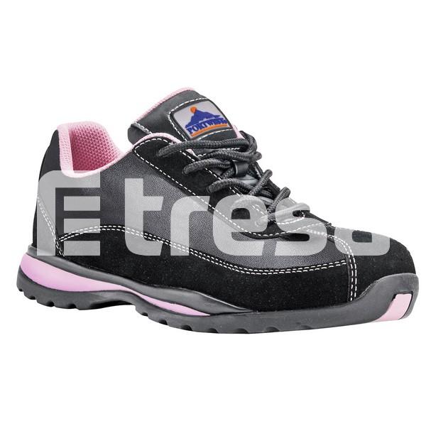 STEELITE S1P, Pantof de dama cu bombeu, lamela antiperforatie, talpa HRO 1