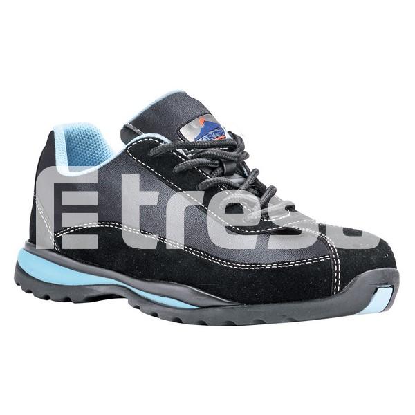 STEELITE S1P, Pantof de dama cu bombeu, lamela antiperforatie, talpa HRO 0