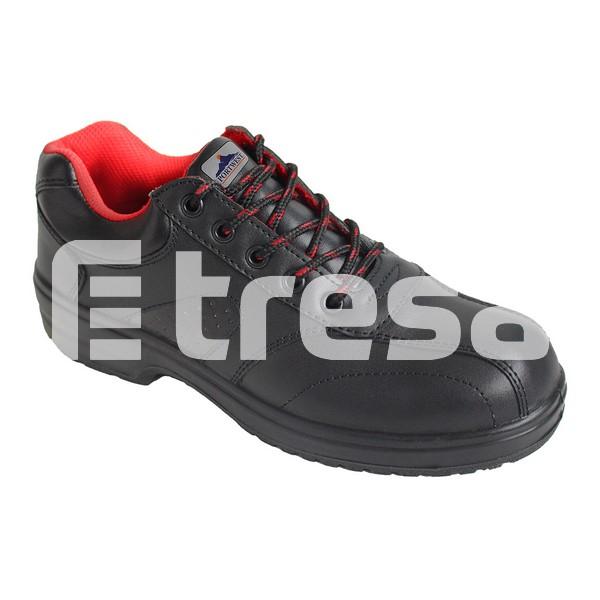 STEELITE SAFETY S1, Pantofi de protectie cu bombeu, talpa SRC 0