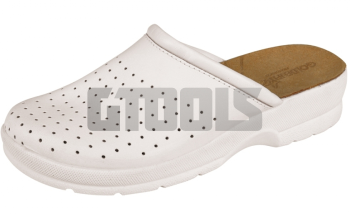 TARUCA LADY, papuci albi 1