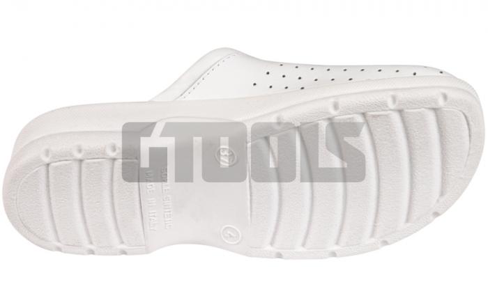 TARUCA LADY, papuci albi 2