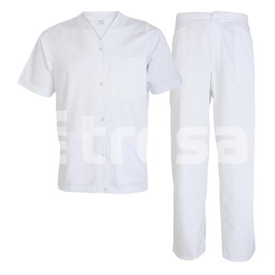 TINA, costum alb din tercot [0]