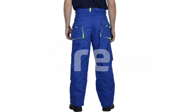 TONGA, Pantalon standard din bumbac si poliester 2