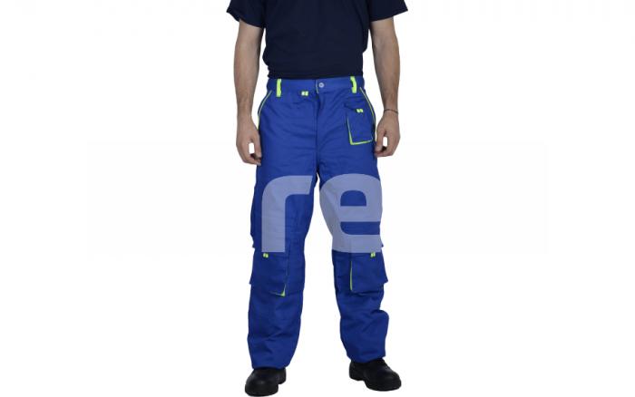 TONGA, Pantalon standard din bumbac si poliester 0
