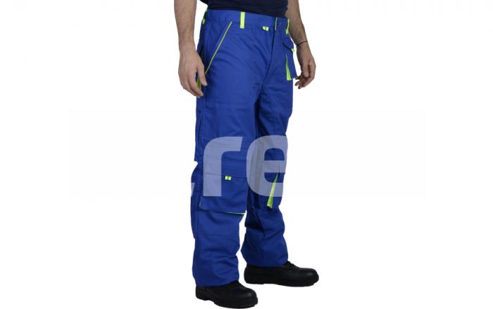 TONGA, Pantalon standard din bumbac si poliester 1