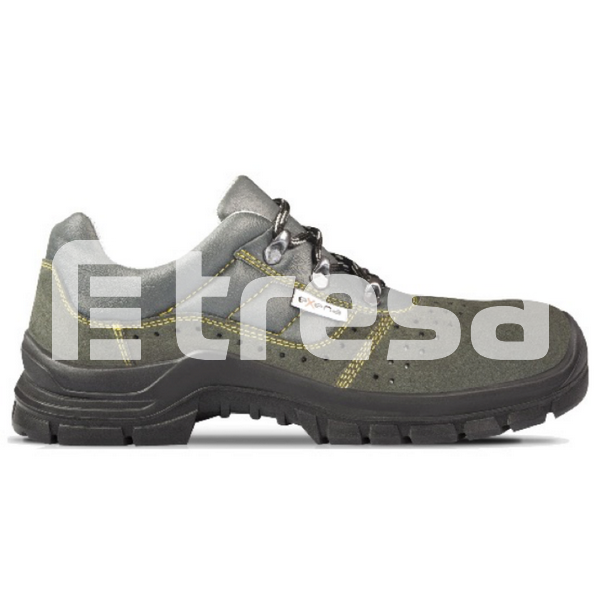TRASIMENO S1P, Pantofi de protectie cu bombeu si lamela antiperforatie, talpa SRC 0
