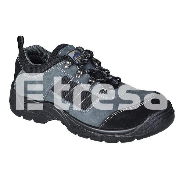 TREKKER STEELITE S1P, Pantofi de protectie cu bombeu, lamela antiperforatie, talpa SRA 0