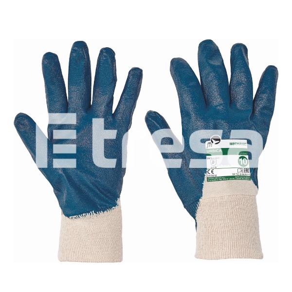 URBICA, Manusi de protectie din bumbac, imersate in nitril [0]
