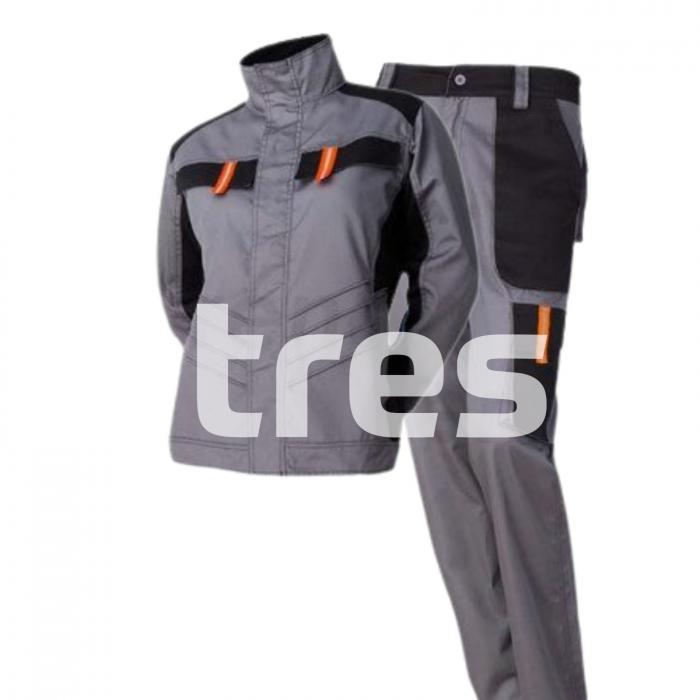VULCANO PS, Costum femei cu jacheta + pantaloni standard din poliester si bumbac [2]