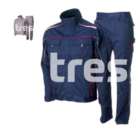 ANDURA PS, Costum cu jacheta + pantaloni standard din poliester si bumbac [2]